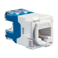 Modular Socket, Category 6, UTP, RJ45, 30RJ45SMA6-WE, White Electric