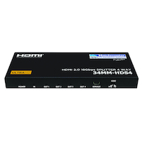 HDMI SPLITTER 4 WAY 4K@60HZ