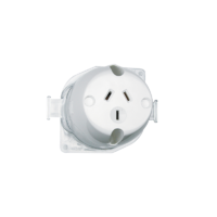 Socket Surface 3PIN 10A 250V 413-TR