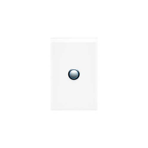 Push Button Switch, LED, 1 Gang, 20A, Saturn 4000 series, 4061PBL-PW, Pure White